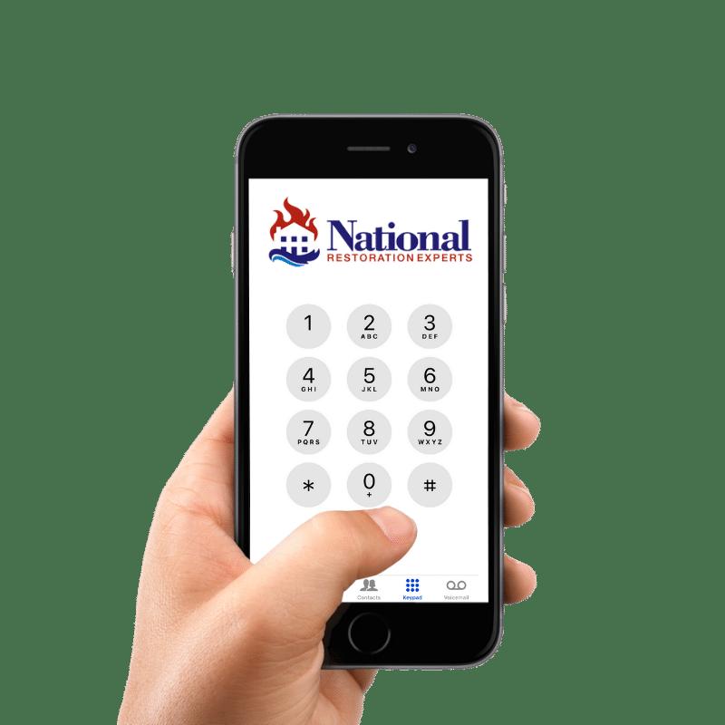 Call National Restoration Experts