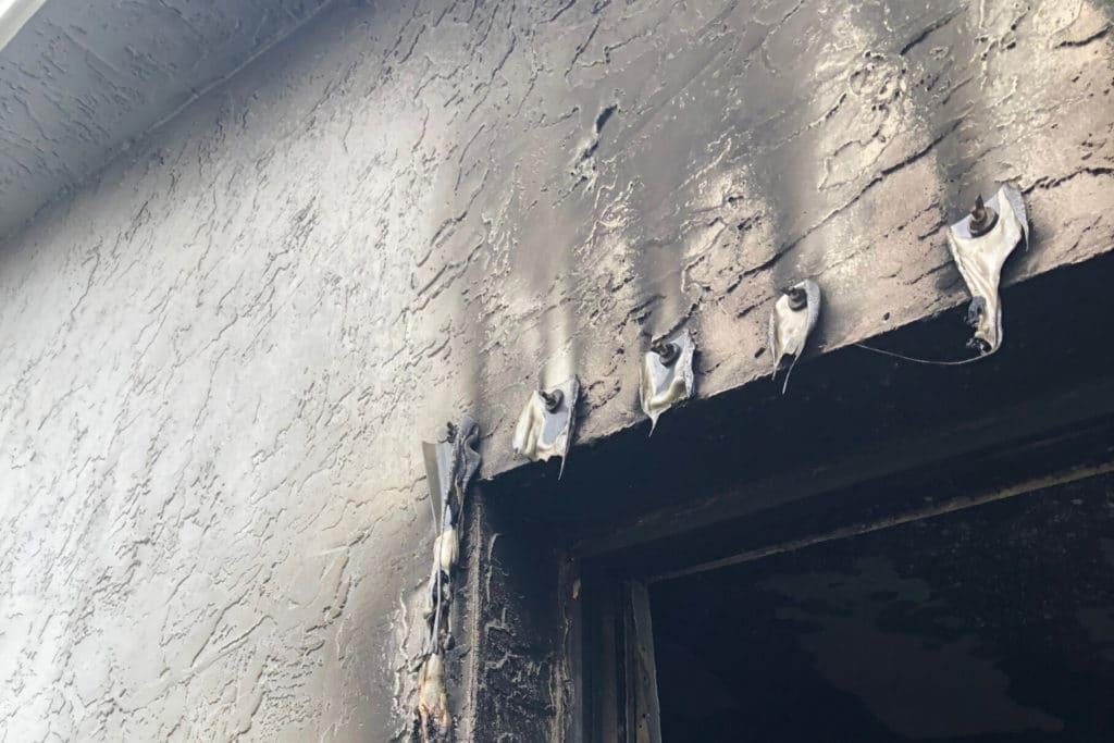emergency fire damage restoration